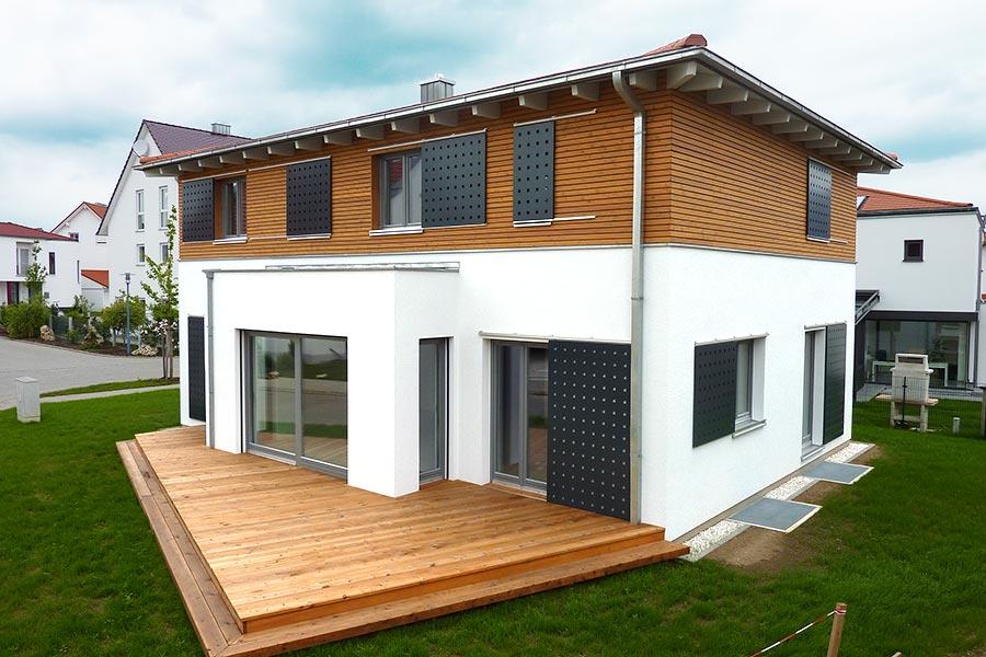 Holzhäuser Bayern holzhäuser in holzrahmenbauweise kaiser holzbau aus straßkirchen
