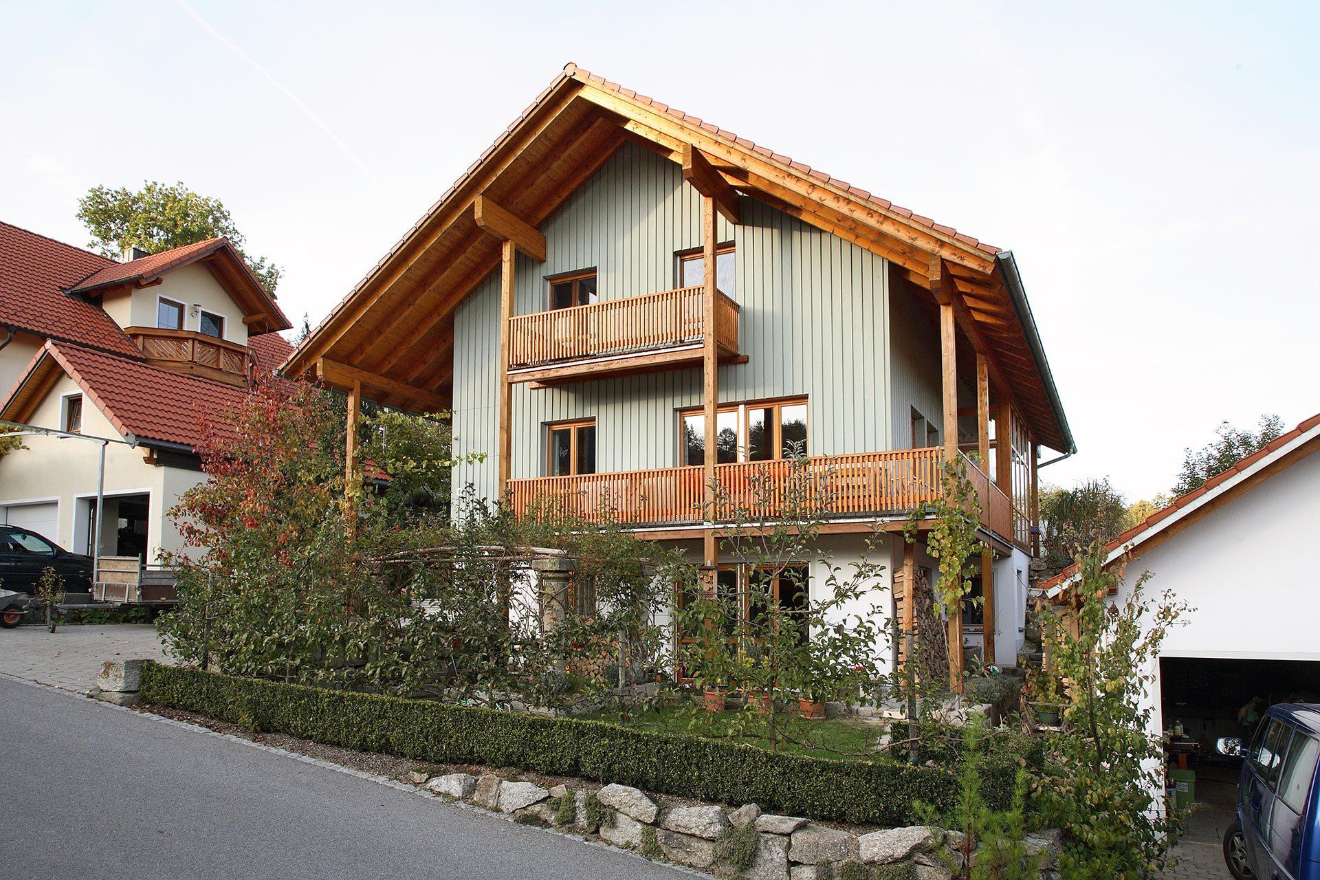Einfamilienhaus von Holzbau Kaiser